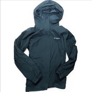 Columbia Black Misty Hallow Rain Jacket | SZ S